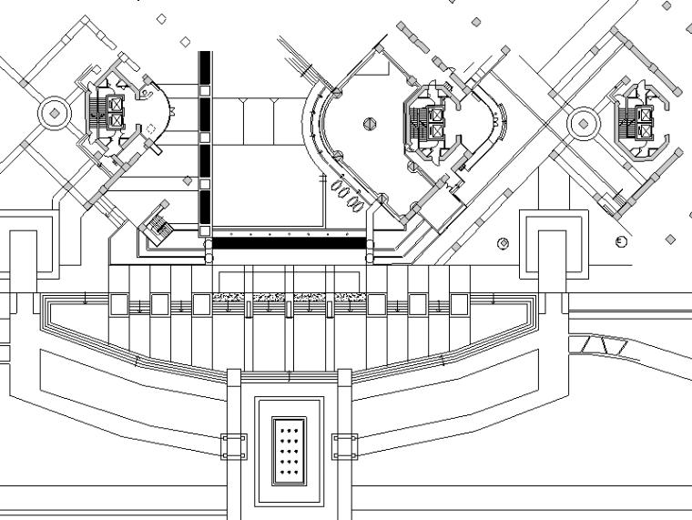 [广东]深圳碧海彎居住會所區第一期全套景观施工图设计(包含CAD+32个)_1