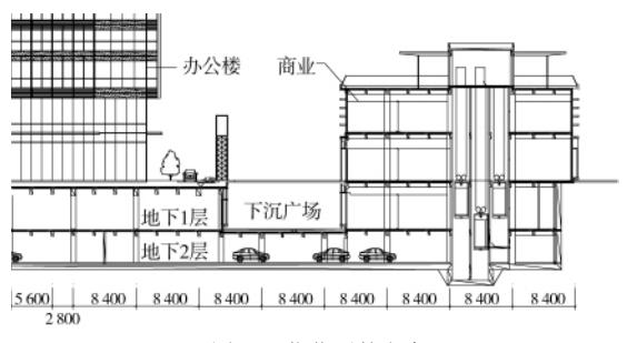 多塔楼大底盘结构嵌固端的确定与设计优化论文
