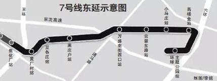 北京地铁7号线东延和八通线南延线同时贯通,明年底通车!_2