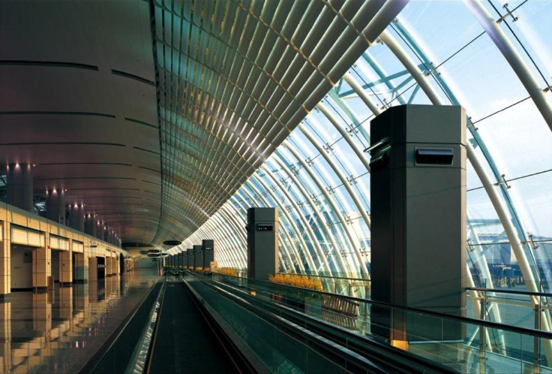 漫谈金属屋面的建筑设计应用(1)——广州新白云国际机场航站楼_16