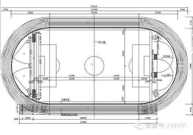 景观设计常用室外运动场地标准尺寸_13