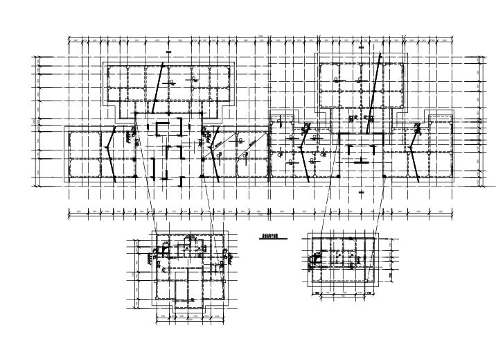 22层框剪结构住宅楼结构施工图(CAD、28张)