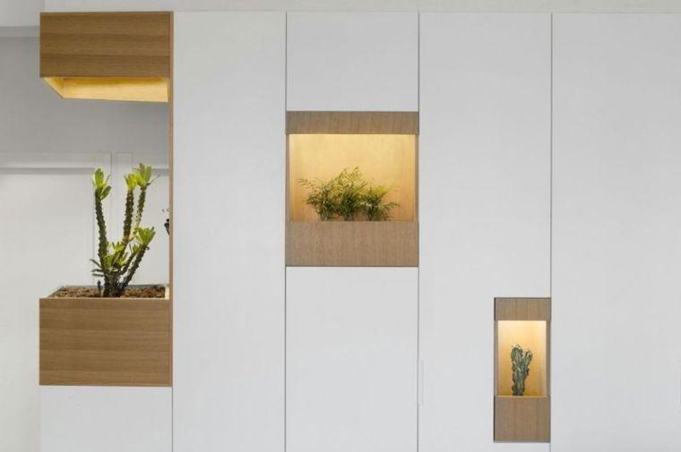 几何趣味80平纯净北欧风公寓设计_4