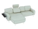 米白色沙发3D模型下载