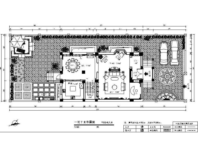 [安徽]精装欧式住宅室内设计施工图(含效果图)