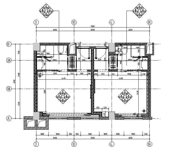 [福建]西方财富酒店设计施工图(附效果图)