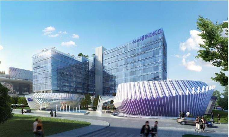 [上海]集中西方金融、文化的海港城市酒店项目(包含CAD+汇报)