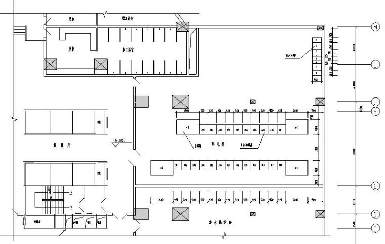 6层酒店建筑电气安装系统图