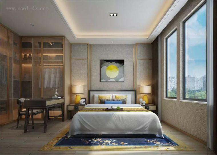卧室背景墙别放空,这样设计美极了!_7
