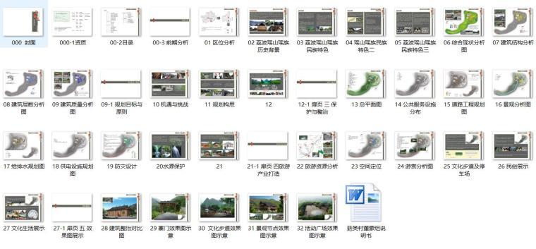 瑶山瑶族村庄茹类村整治规划方案设计文本PDF(40页)_12