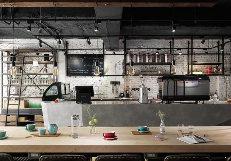 台湾工业风格咖啡馆-4