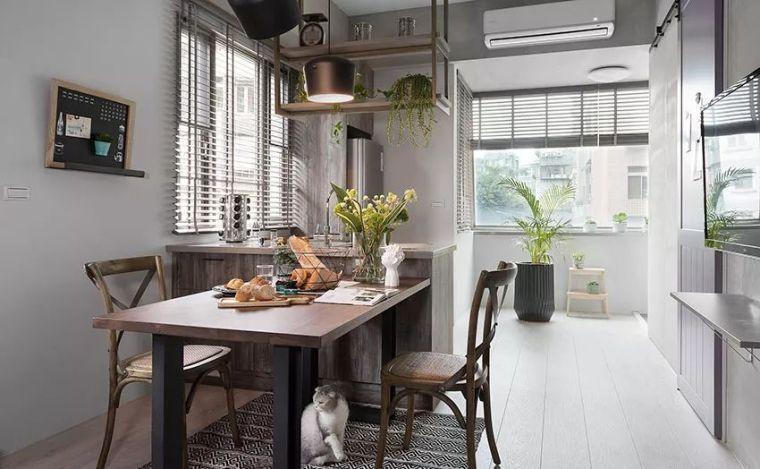 有了这40㎡的单身公寓,只想宅在家里撸猫_6