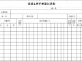混凝土养护测温记录表