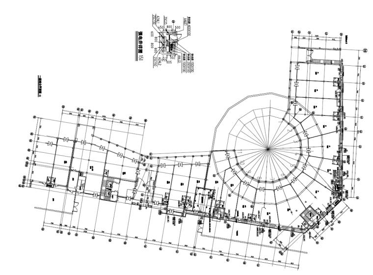 广东大型商业购物中心电气施工图