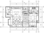 [上海]美式风格住宅设计施工图(附效果图)