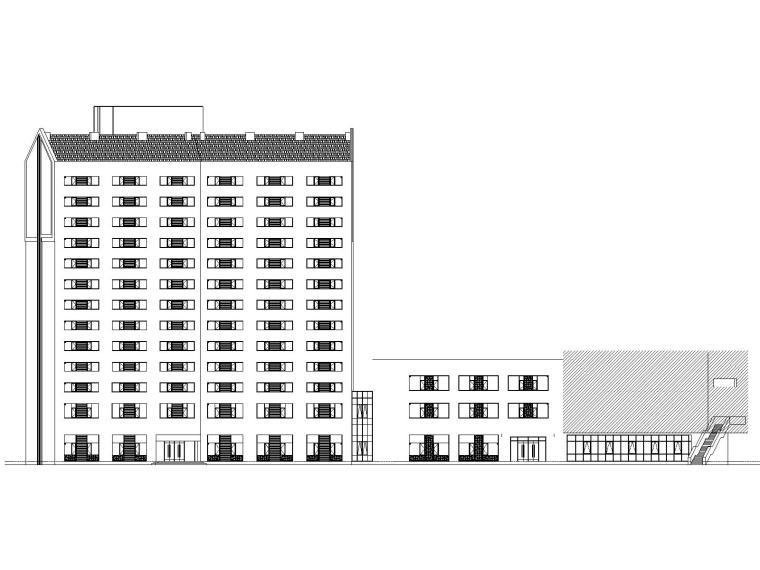 某实验学校·教师公寓及行政办公楼建筑施工图