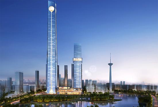 沈阳宝能金融中心T1塔楼Perform-3D动力弹塑性分析
