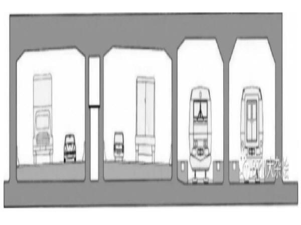 沉管隧道的结构形式
