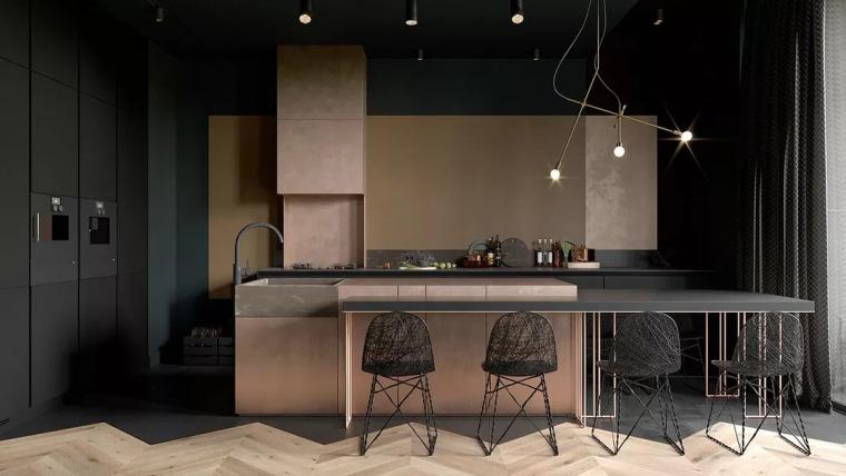 厨房比客厅还好看,让你爱上做饭!!_27