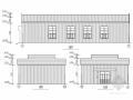 钢结构古建筑会议室结构施工图