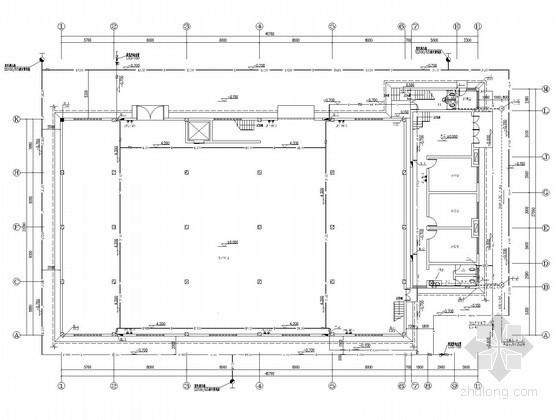 [湖南]生产车间及办公楼水电施工图