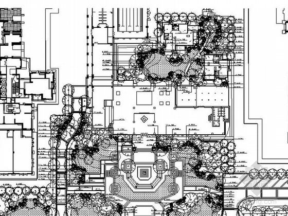 [四川]简约风格售楼处设计施工图