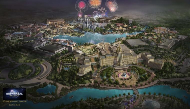 北京环球主题公园规划方案今年将细化
