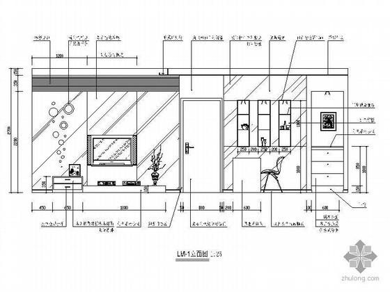 70平米两室一厅精装修图-2