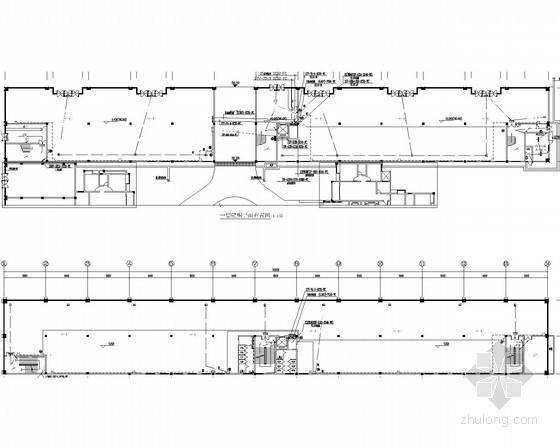 [四川]二类高层裙房建筑电气施工图9张