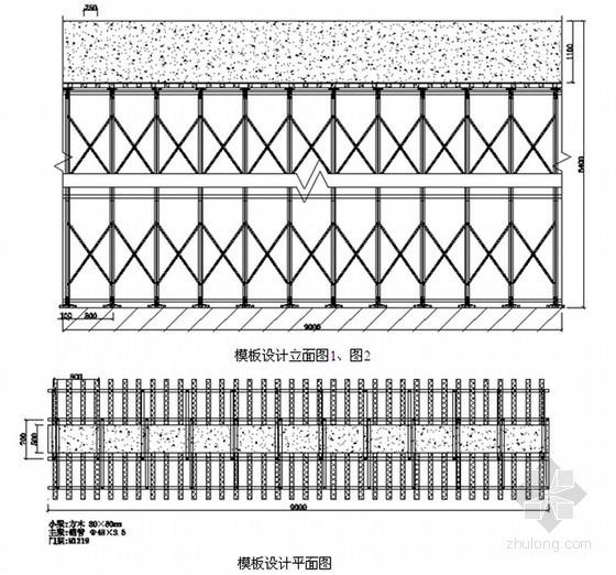 文化中心工程模板支撑安全专项施工方案(175页 附计算书)