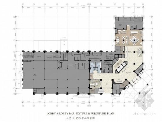 [青岛]商业中心区巨头酒店管理五星级高档酒店设计方案