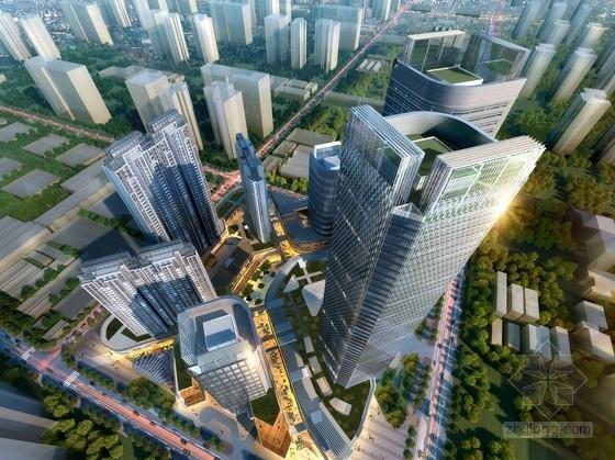 [广东]200米超高层商业综合体建筑设计方案文本(知名设计院)