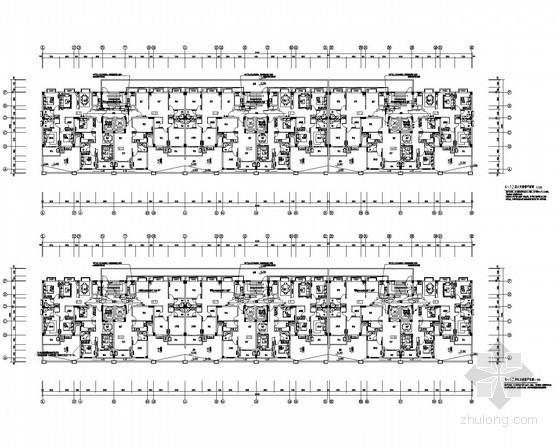 [湖北]商业住宅综合楼电气施工图(甲级院)
