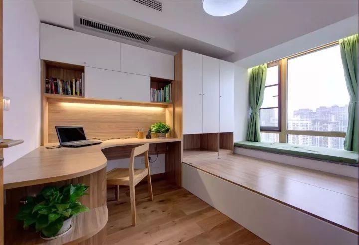 榻榻米床+柜子如何组合设计?35个案例告诉你..._15