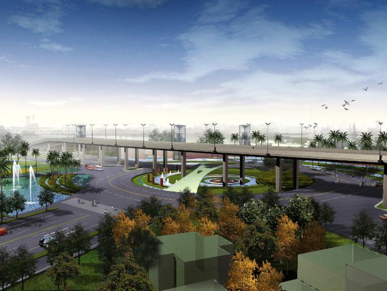 [江苏]苏州市沪宁高速公路西出入口景观规划方案设计(JPG+72页)
