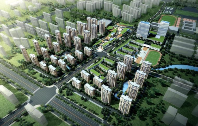 [江苏]镇江新区光华路小型综合体建筑方案设计文本