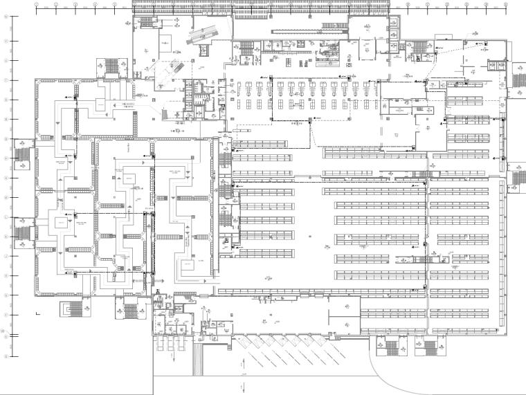 西安家具卖场项目电气施工图纸-西安大型家具商场项目电气施工图纸_2