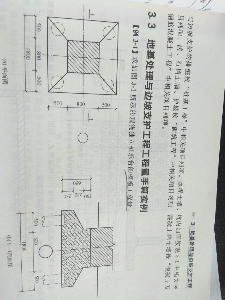 这个桩承台模板工程量怎么算