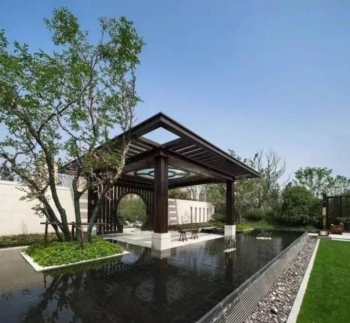 50款|各式新中式景观亭设计_47