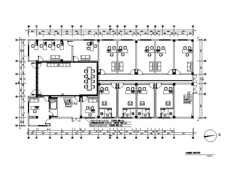 【福建】混搭风格检察院设计CAD施工图(含效果图)_1