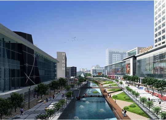 [江苏]苏州石路步行街景观设计(现代)