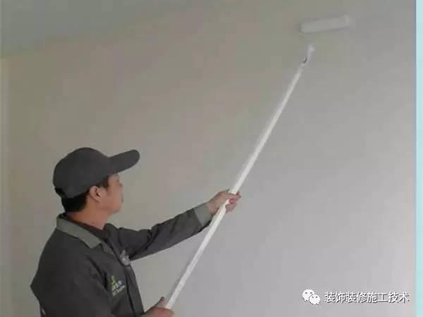 乳胶漆施工工艺及验收标准