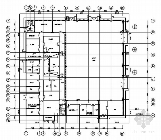 某食堂给排水施工图
