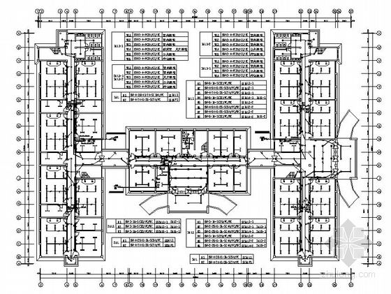 大型教学楼电气图纸