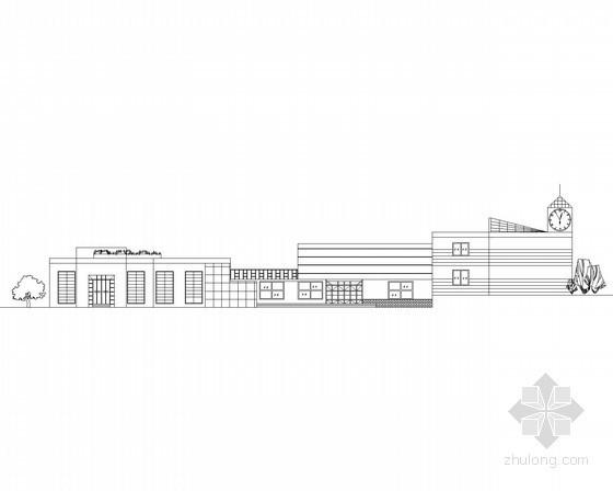 [课程设计]某二层大学生活动中心建筑方案