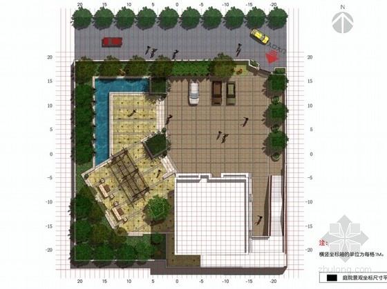 [广东]欧式风格庭院景观设计方案