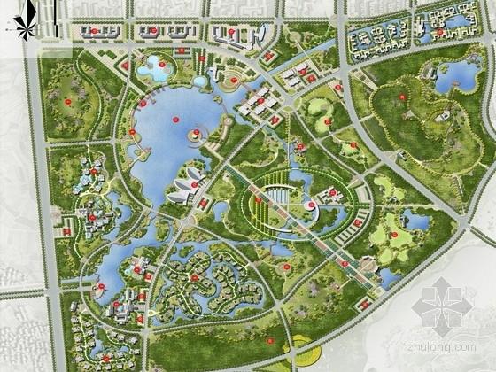 [江苏]森林湖畔附属综合用地滨水景观规划设计方案