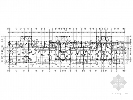 8层现浇剪力墙住宅结构施工图(平筏基础)