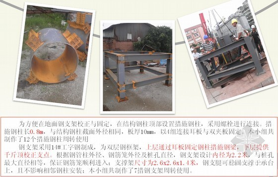 [QC成果]旋挖桩基逆作钢管混凝土柱施工关键技术控制