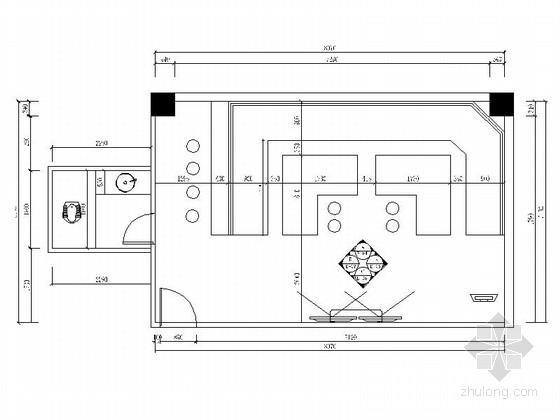 [厦门]高档KTV包厢室内装修施工图(含效果)